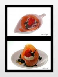 salmon gravlax collage 2